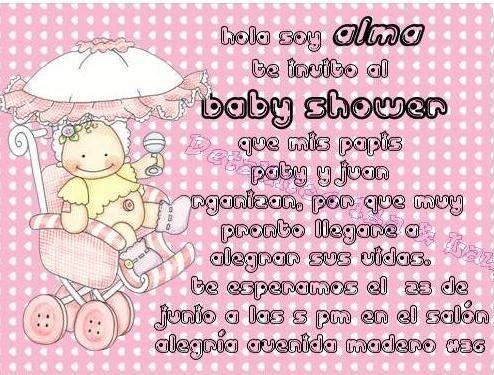 Baby Shower Leyendas Para Invitación Imagui Baby Shower