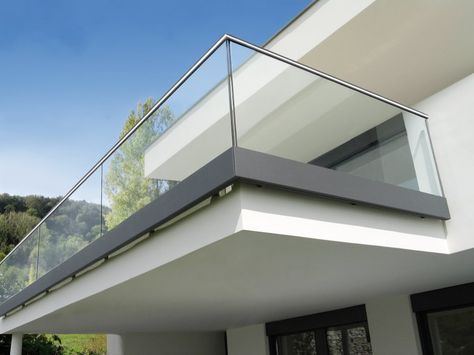 New Glass Railing Balcony