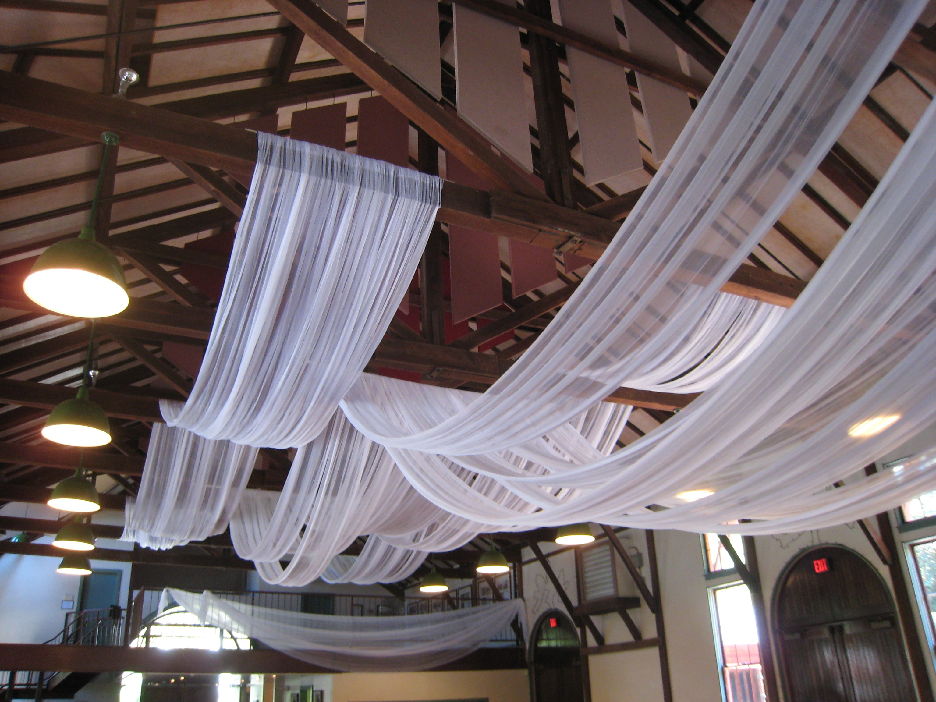 Pin On Ceiling Wall Weddings