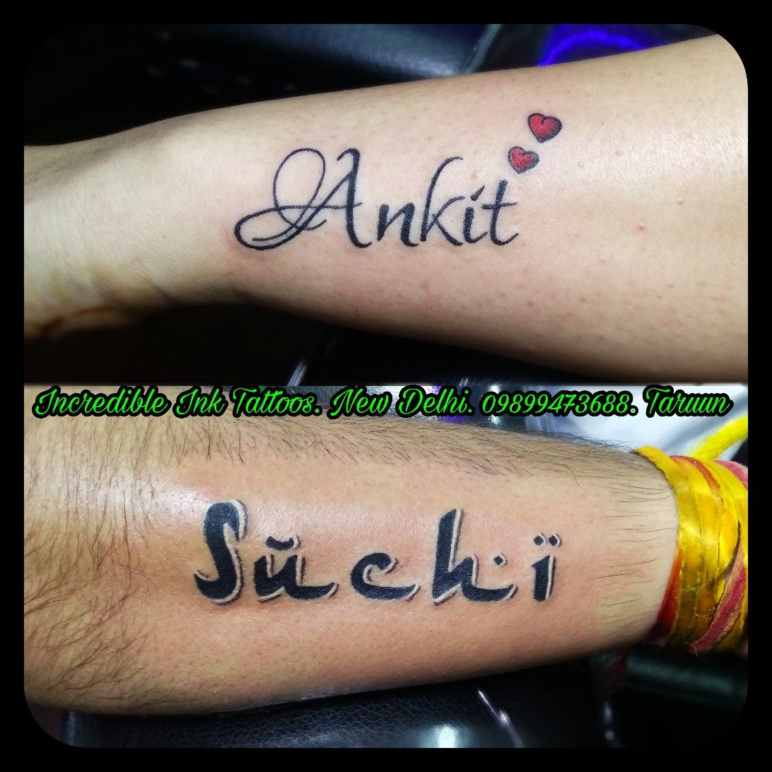 Ankit Suchi Name Tattoo Ankit Suchi Name Tattoos Call Whatsapp 09899473688 Name Tattoos Name Tattoo On Hand Hand Tattoos