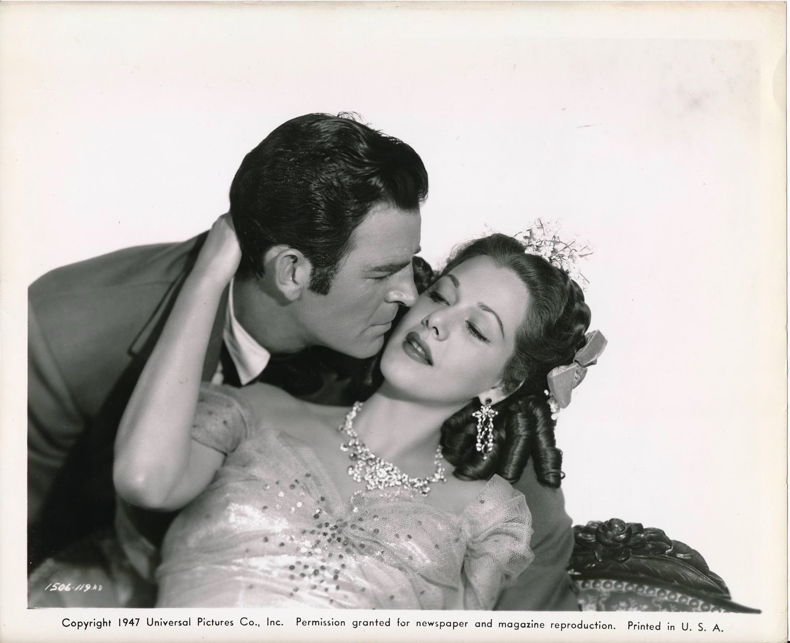 Rod Cameron and Maria Montez