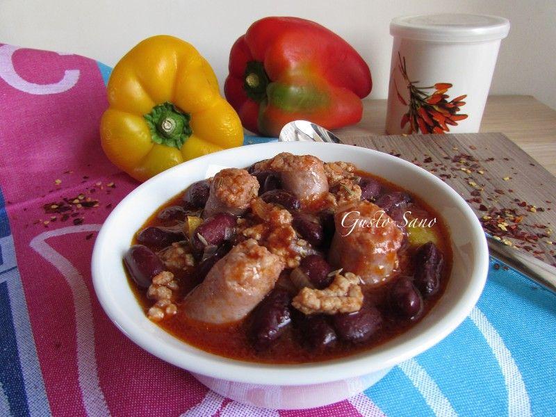 Ricetta: Chili con carne e salsiccia