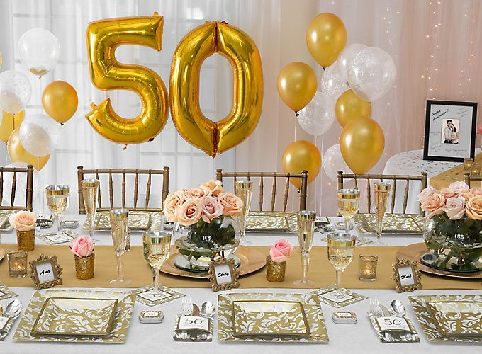Gift Ideas For 50th Wedding Anniversary Party: 50th Anniversary Ideas