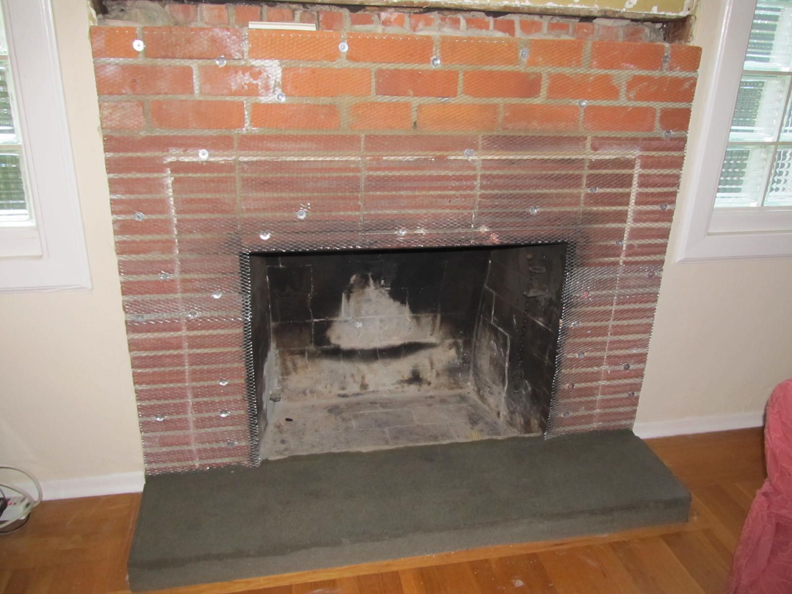 how to build a brick fireplace surround fireplace pinterest