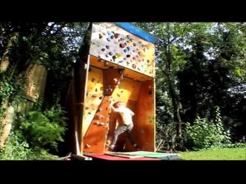 How To Build An Outdoor Moon Board Bouldering Climbing