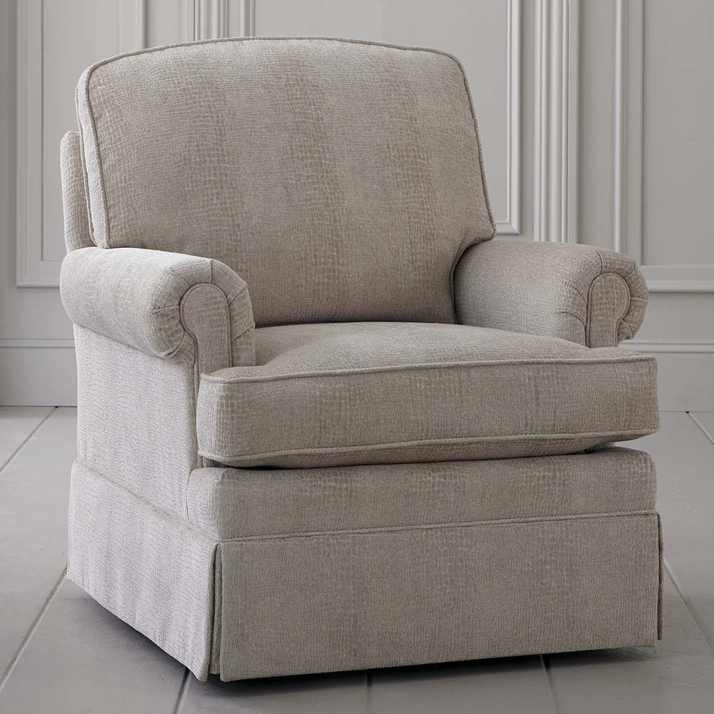 Gentil Upholstered Swivel Rocking Chair   Custom Home Office Furniture Check More  At Http://