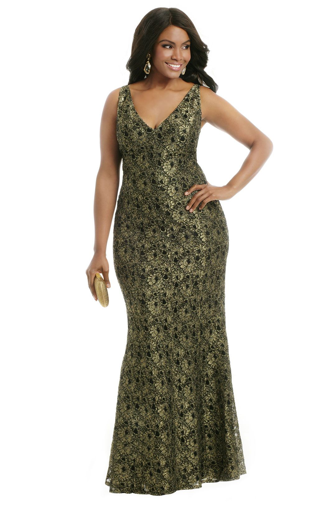 5 beautiful plus size evening gowns dresses for summer - plus
