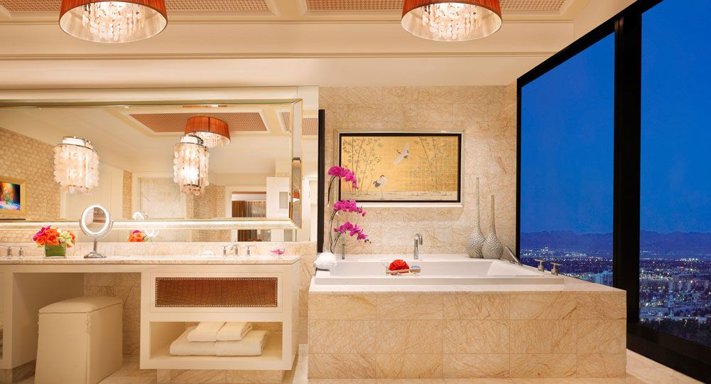 Three Bedroom Duplex At Encore Resort Las Vegas