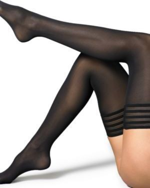 c58fd4f923b01 Wolford Velvet De Luxe Stay-Up Thigh Highs | Nylon in 2019 | Thigh ...