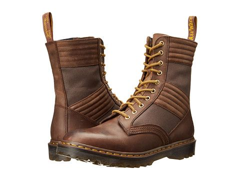 Dr martens baden high jungle boot aztec rugged crazy horse dark waxed canvas,  at 6pm.com