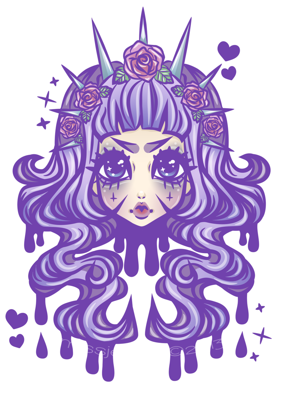 Pastel Goth Princess by MissJediflipviantart on deviantART
