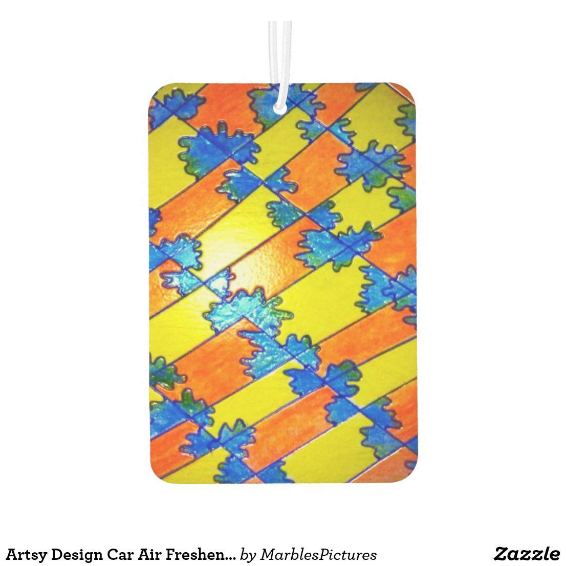 Artsy Design Car Air Freshener Car air