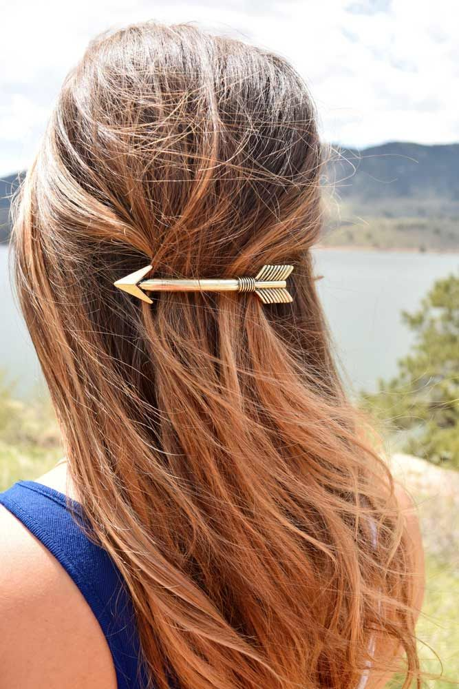 Barrette Hairstyles Extraordinary 18 Hair Barrettes Ideas To Wear With Any Hairstyles  Pinterest