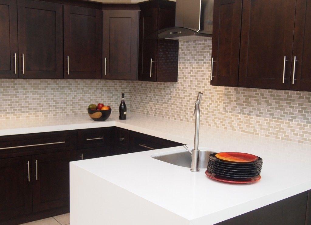 espresso shaker kitchen cabinets Google Search