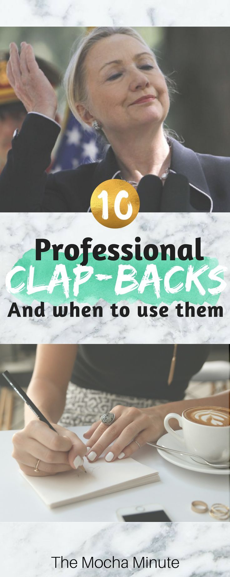 professional clapback examples and when to use them board and blogging