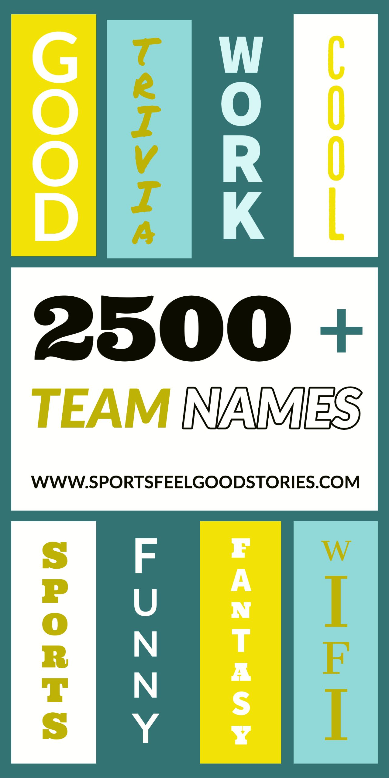 Best Team Names For Business Groups And Sports Clubs In 2020 Best Team Names Team Names Funny Team Names