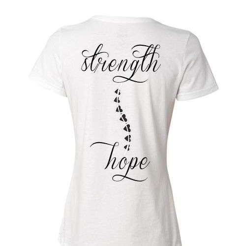 afd6f072 Scoliosis-Spine-w-Heart-Design-Strength-Hope-Womens-Girls-T-Shirt-or-Hoodie