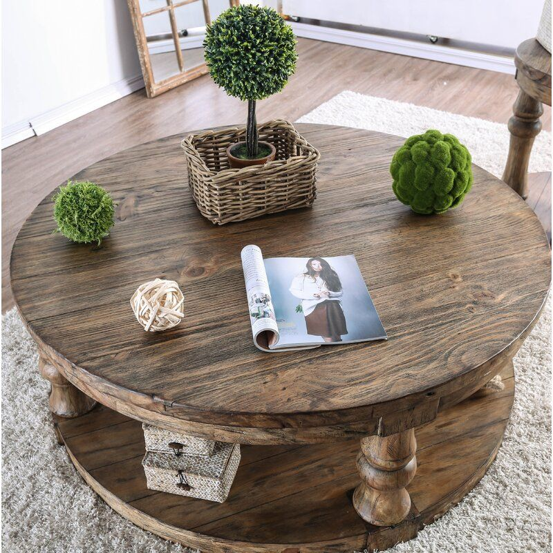 Amstel Floor Shelf Coffee Table with Storage in 2020