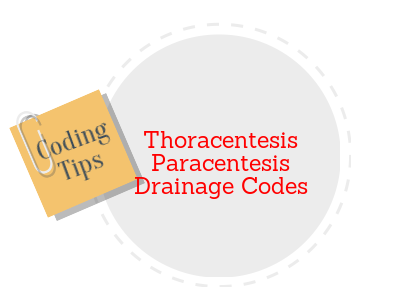 Amazing Tips for coding Thoracentesis and Paracentesis