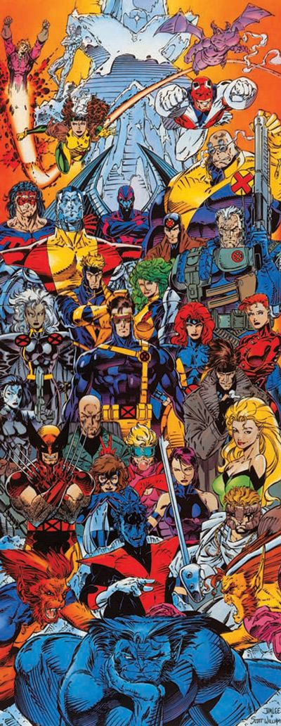 X-Men Forever #1 by Jim Lee