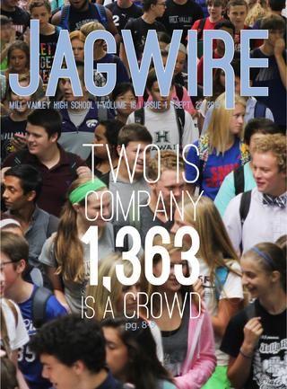 JagWire Newspaper — Volume 16, Issue 1