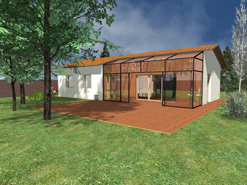 Jeune maison + serre bioclimatique - Recherche Google | Way of Life DS-34