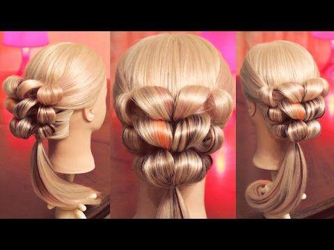 оформление хвоста причёска на резинках Hairstyles By Rem