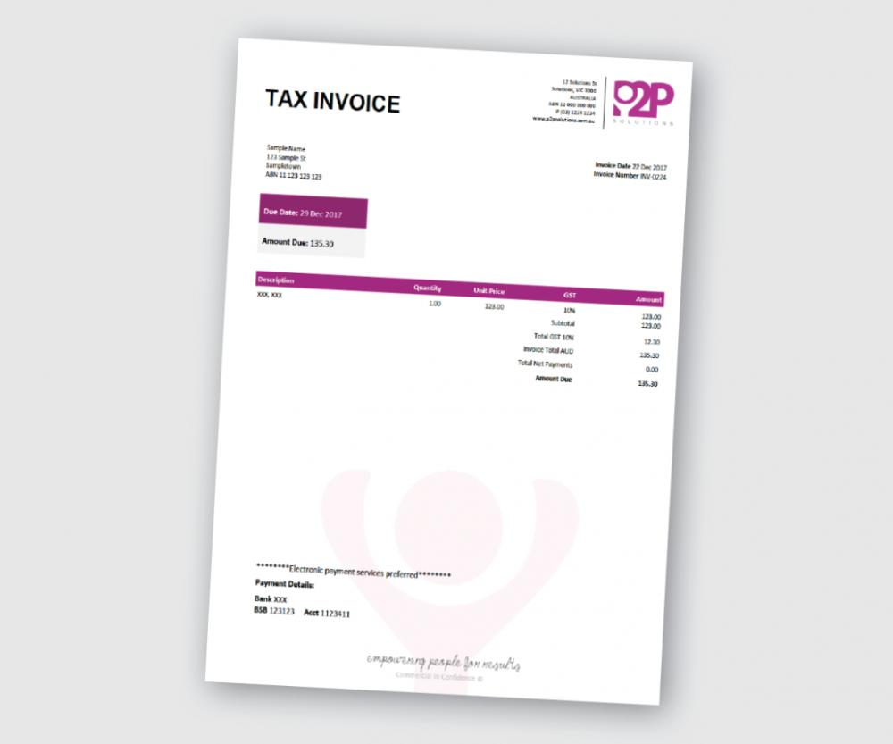 Custom Xero Templates Designed For Business Docx Branding Themes Within Xero Custom Invoice Template 10 Prof Invoice Template Template Design Invoice Layout