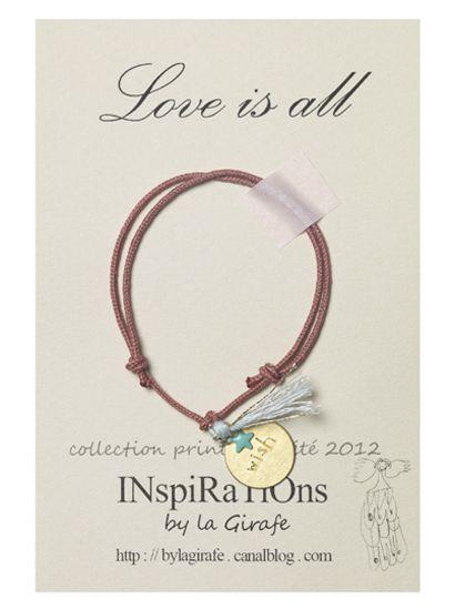 Love is All Bracelet