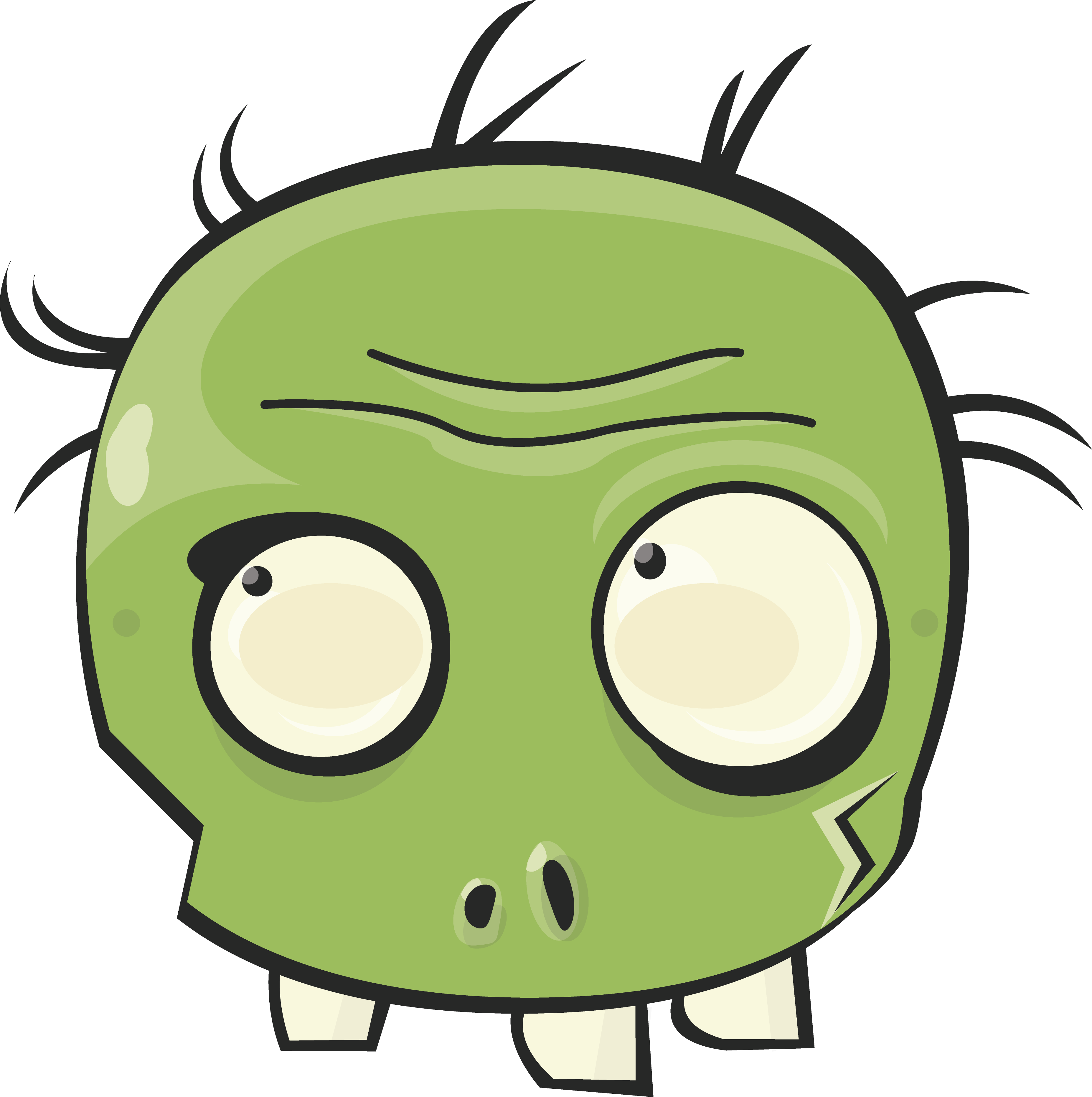 I have a friend who needed a Plants versus Zombies mask for a party