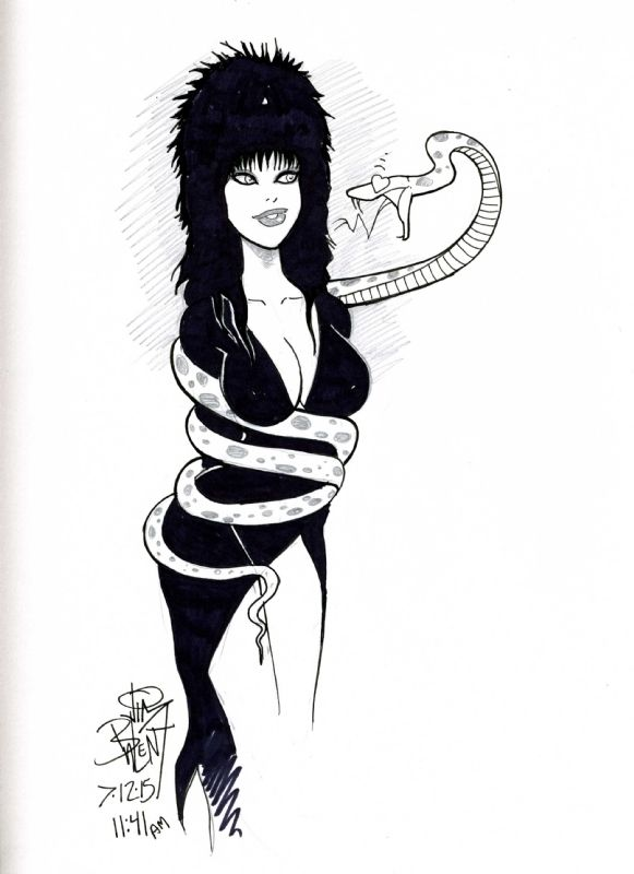 Elvira by Jim Balent