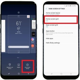 Step By Step Guide To Customize Galaxy S8 Home Screen Such As