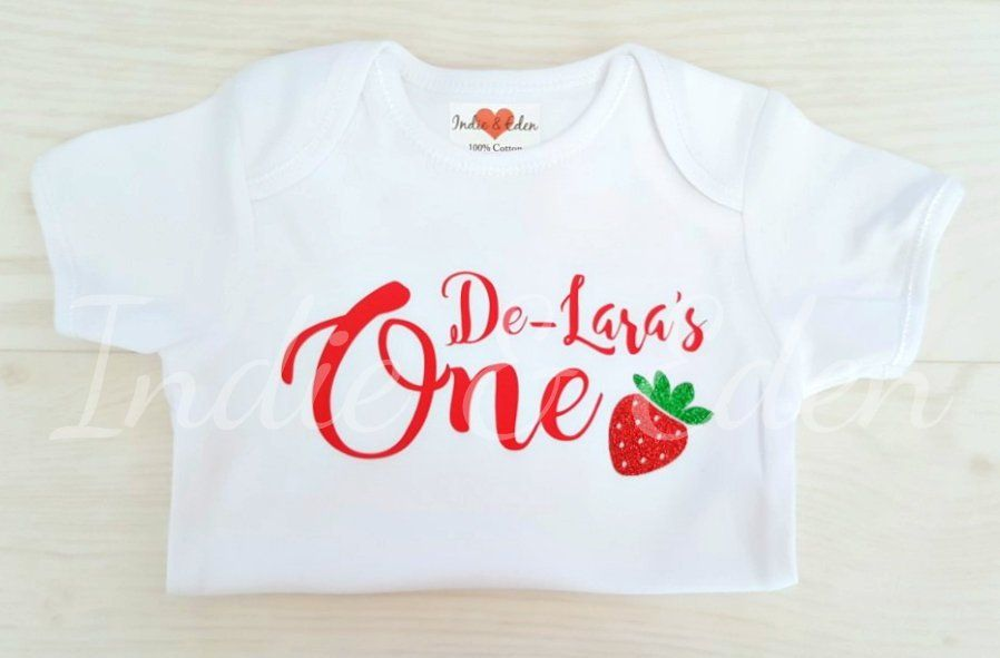 First Birthday Outfit Name On Birthday Babygrow Boys Personalised