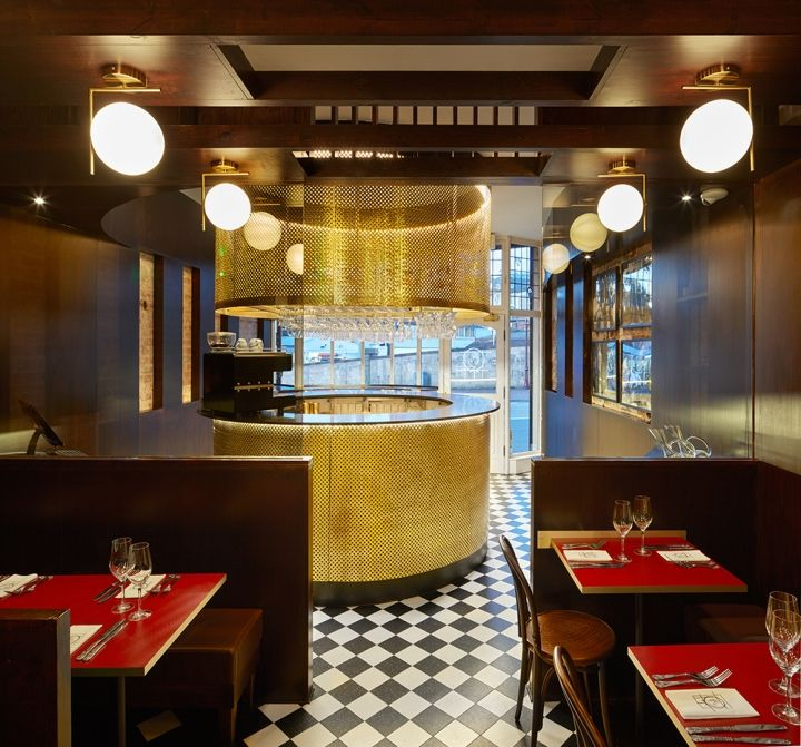 Coco Retro Bistro By 32 Mq Tunbridge Wells UK Retail Design Blog