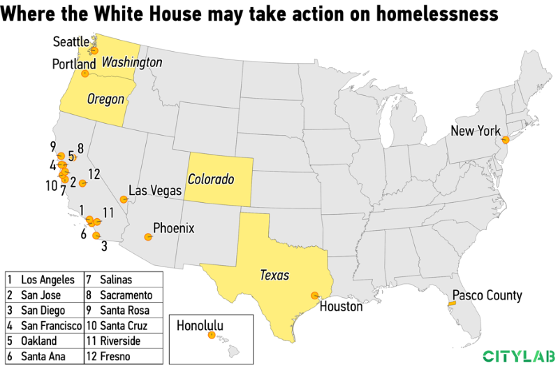Trump's Plan to Criminalize Homelessness Is Taking Shape
