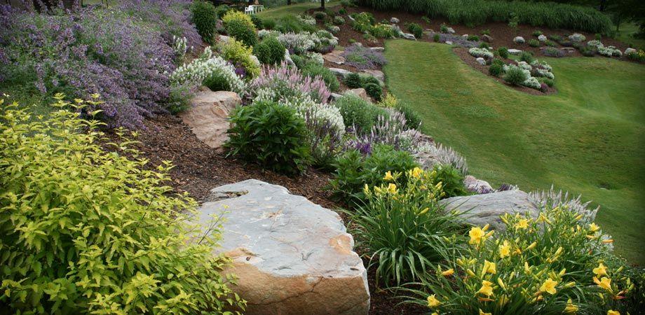 Landscaping Boulders Stone Hardscapes Landscaping With Rocks Landscape Design Lawn And Landscape