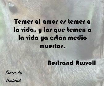 Frases Filosoficas De La Vida De Bertrand Russell