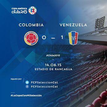 RT @FCFSeleccionCol: #COL vs #VEN Final del partido. Colombia en el debut cae 0-1 ante Venezuela. A recomponer el camino ante #BRA. http://t.co/wNKjUfWHUc  RT @GolCaracol: ¡Finalizó el partido! #Ven venció 1-0 a #Col que presionó hasta el último minuto. Vea el gol del encuentro en http://t.co/y4XwgVhWAy