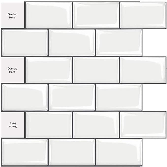 5 sheet peel and stick tile backsplash