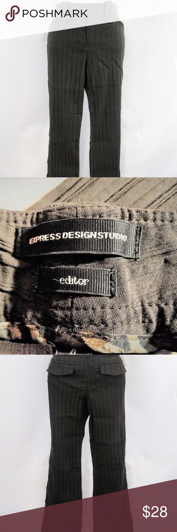 Size dark brown dress pants cp express design studio editor