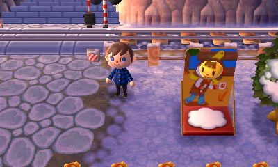 Bathroom Stall Acnl katie uses the standee. | animal crossing new leaf | pinterest