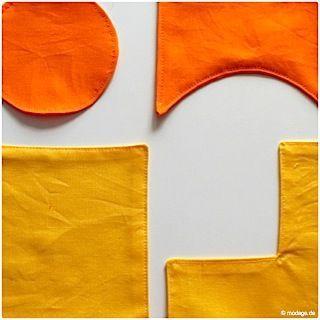 Einschneiden von Nahtzugaben Rundungen Kreise Ecken naehen modage TB #sewinglessons