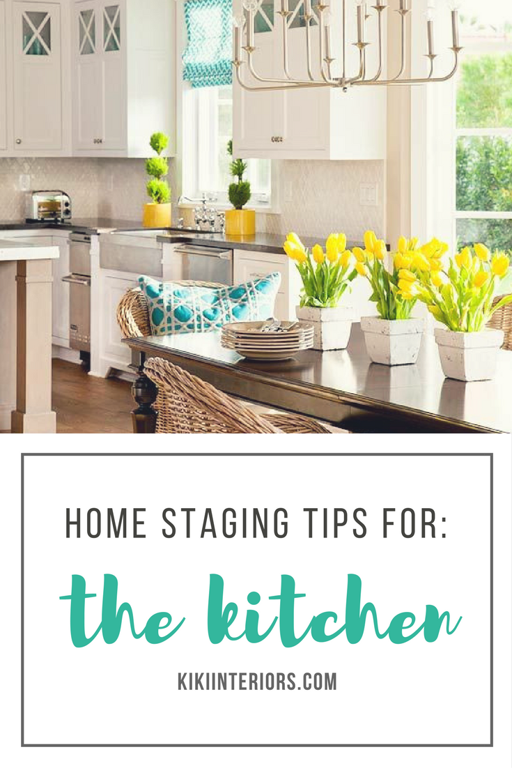 Home Staging Tips for the Kitchen - buyers want a fresh looking kitchen - so pay special attention to this area of the house. Home staging advice. Home staging tips. #style #shopping #styles #outfit #pretty #girl #girls #beauty #beautiful #me #cute #stylish #photooftheday #swag #dress #shoes #diy #design #fashion #homedecor