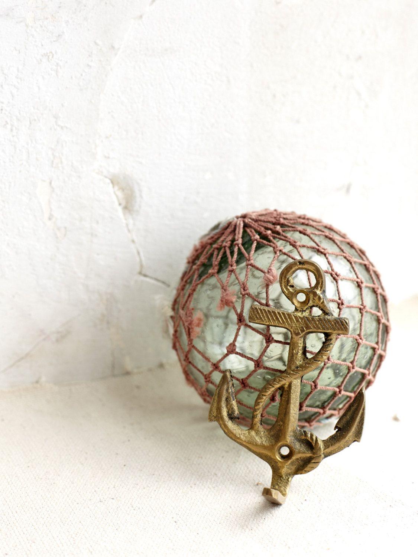 Brass Anchor Hook by DearOldSouls on Etsy https://www.etsy.com/listing/231924100/brass-anchor-hook