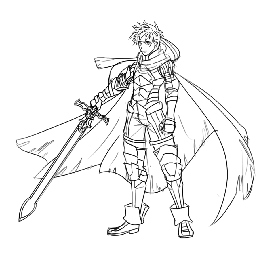 fire emblem coloring pages - Google Search | My Coloring Book ...