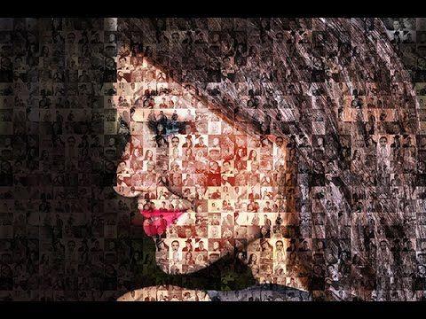Cara Membuat Foto Mozaik Dengan Photoshop Photoshop Gambar Abstrak