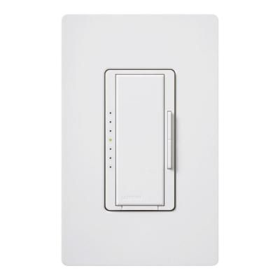 Lutron Maestro 150 Watt Single Pole 3 Way Or Multi Location Digital Cfl Led Dimmer White Macl 153mr Wh At The Home Depot Led Dimmer Switch Lutron Led Dimmer