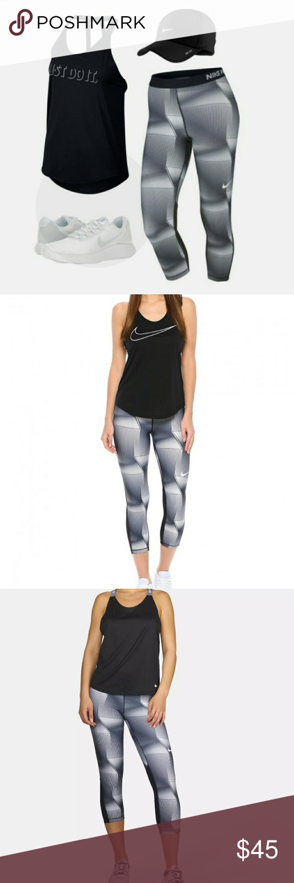 052d6c12f4075d Spotted while shopping on Poshmark: New Nike Capris! #poshmark #fashion # shopping #style #Nike #Pants