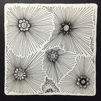 Frost Flower to Sooflowers - Tangling on a Plane