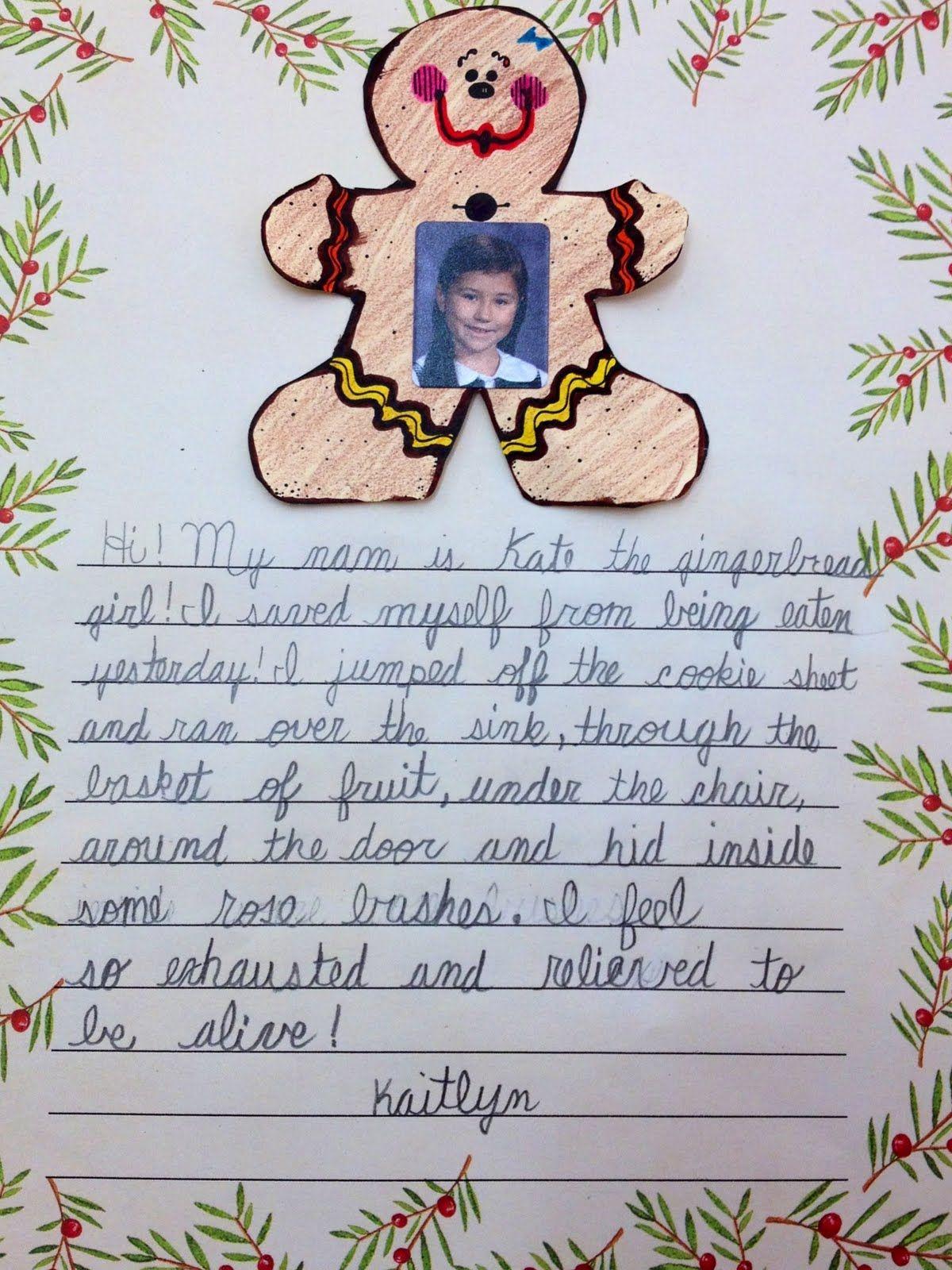 Descriptive Writing | Descriptive writing, Gingerbread man ...
